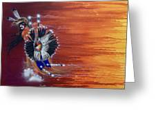 Pow-wow Dancer Greeting Card