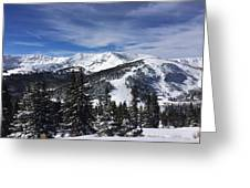 Powder Day On The Pass Greeting Card
