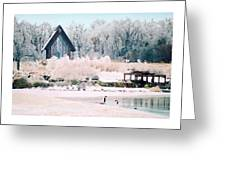 Powell Gardens Chapel Greeting Card
