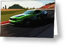 Power And Motors Greeting Card