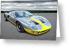 Power And Performance - Ford Gt40 Greeting Card