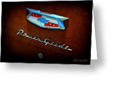 Power Glide Greeting Card