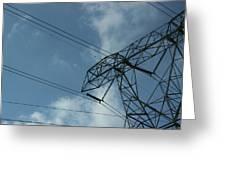 Power Grid Greeting Card