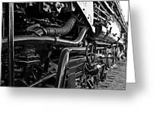 Power In The Age Of Steam 7 Greeting Card