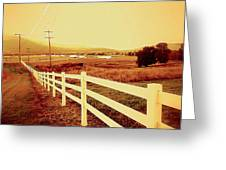 Power Lines 1 Greeting Card