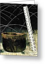 Power Lines Greeting Card by Sarah Loft