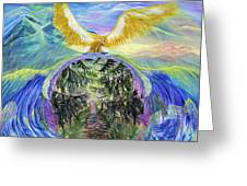 Power Of Great Spirit Greeting Card