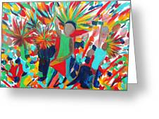 Power Of Music 2 Greeting Card