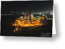 Power Plant Greeting Card