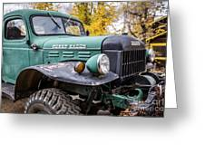 Power Wagon Greeting Card