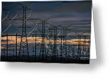 Power Web Greeting Card