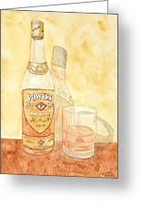 Powers Irish Whiskey Greeting Card