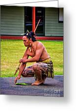 Powhiri 2 Greeting Card