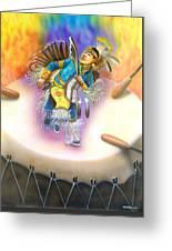 Powwow Dancer Greeting Card