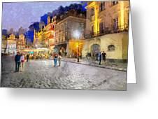 Poznan Greeting Card