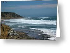 pr 121 - Lone Windsurfer Greeting Card
