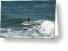pr 127 - Solo Surfer Greeting Card