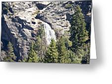 pr 151 - Waterfall Rock Greeting Card