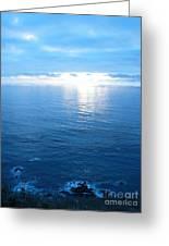 pr 168 - Blue Sunset II Greeting Card