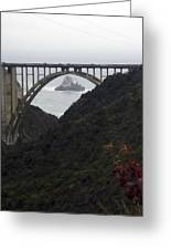 pr 170 - Bixby Bridge II Greeting Card