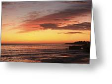 pr 239 - Sunset at Santa Cruz Greeting Card