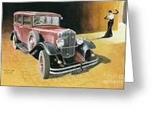 Praga Alfa Greeting Card