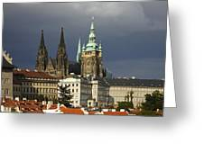 Prague Castle Complex Greeting Card
