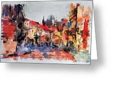 Prague Collection -1 Greeting Card