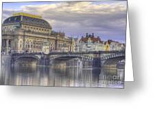 Prague, Czech Republic Greeting Card