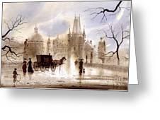 Prague IIi Greeting Card