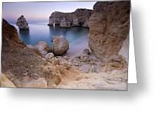 Praia Da Marinha Greeting Card