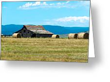 Prairie Barn Greeting Card