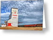 Prairie Cathedral In Morse Saskatchewan   Greeting Card