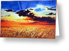Prairie Gold Greeting Card