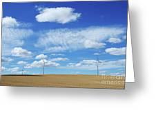 Prairie Landscape Alberta Canada Greeting Card