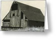 Prairie Overlook Greeting Card