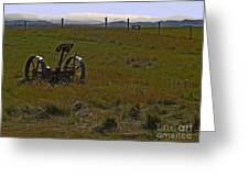 Prairie Scene II Greeting Card