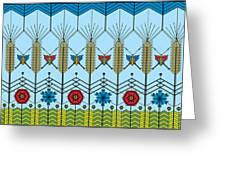 Prairie Wheat Greeting Card