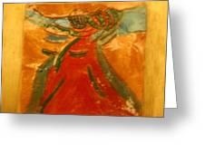 Praise God - Tile Greeting Card