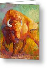 Prarie Gold Greeting Card by Marion Rose