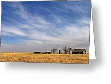 Prarie House Greeting Card