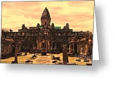 Prasat Bakong Temple I Greeting Card
