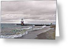Pratt Pier Greeting Card