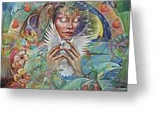 Prayer For Peace Greeting Card