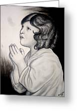 Prayer Is The Master-key Greeting Card