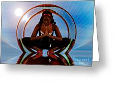 Praying Girl 1209278 Greeting Card