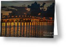 Pre-dawn Causeway View Greeting Card