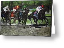 Preakness 2010 Horse Racing Greeting Card