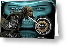Predator Chopper Greeting Card