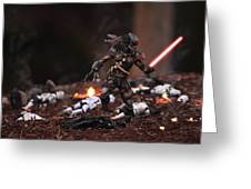 Predator Sith Greeting Card